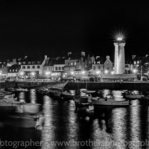 Roscoff by Night